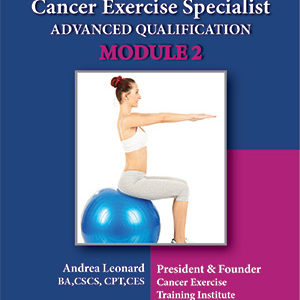 Module Two Cover Cancer Exercise Training Institute