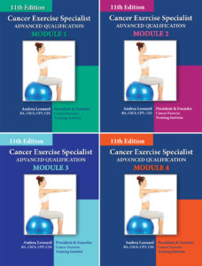 CES Handbooks Cancer Exercise Training Institute