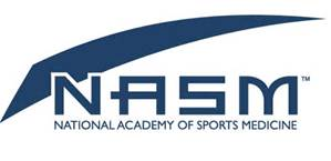 National academy of sports medicine logo cancer exercise training institute