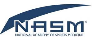 National academy of sports medicine logo cancer exercise training institute